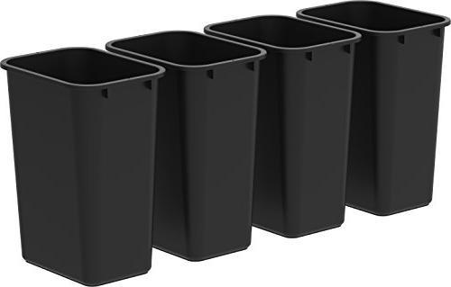 tall waste basket