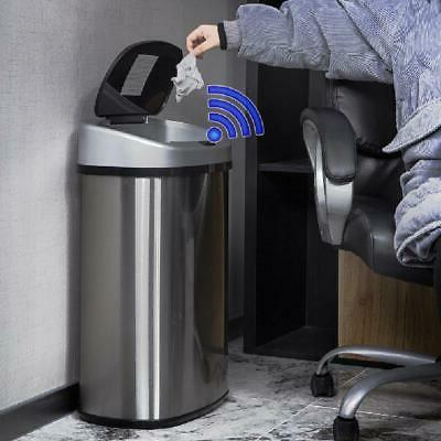 Touch-Free Garbage Can Sensor Automatic 13-Gallon Kitchen