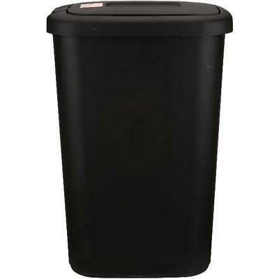 Hefty Touch-Lid 13.3-Gallon Trash Can opens spring lid