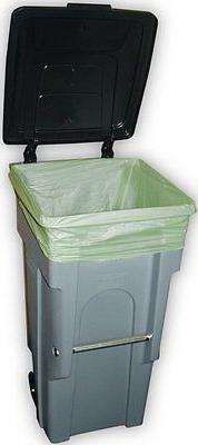 "Trash Bag Can Liners, Biodegradable , 30 Gallon, 30"" x 39"","