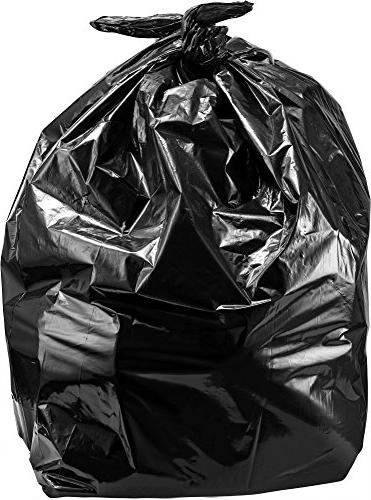 "Trash 95-96 Bags, 2 Mil, 25/Coreless Roll, 61"" Wx68 Black"