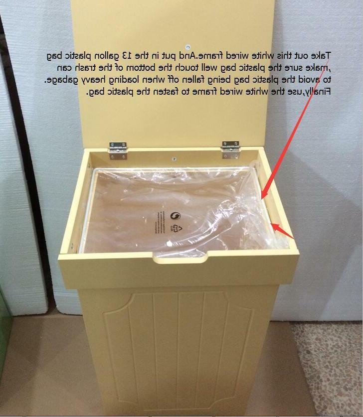 Trash Gallon Recycling Waste Bins Trash