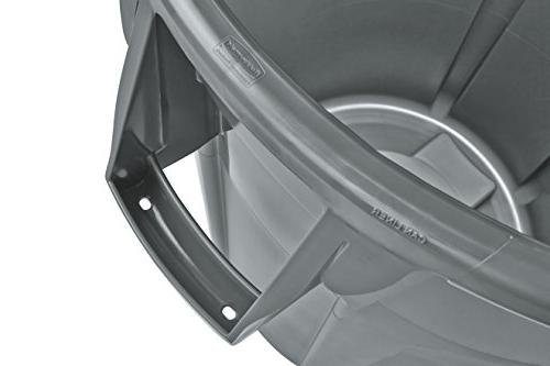 Rubbermaid 2632DGR Brute Container, gal,