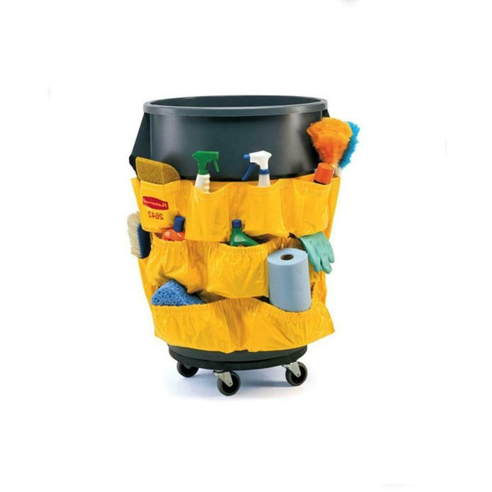 Trash Can Dolly Mover Rubbermaid Commercial Brute Heavy