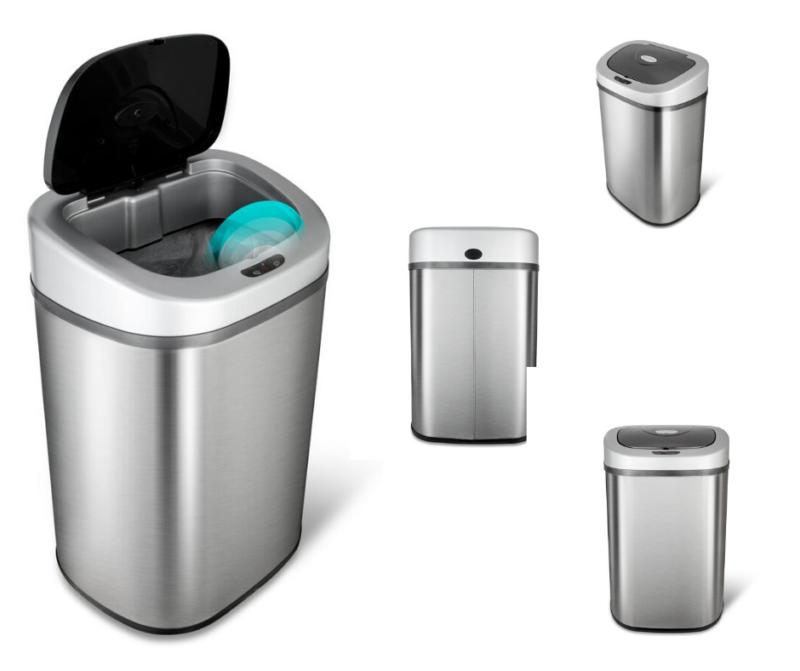 Trash Can FOR WITH Motion Sensor, Bin Gallon