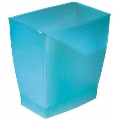 Trash Can Garbage Wastebasket Rectangular for Bathroom Bedro