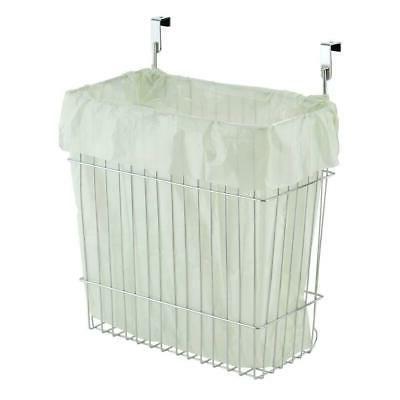 Kitchen Storage Basket Trash Can Hanging Door Home