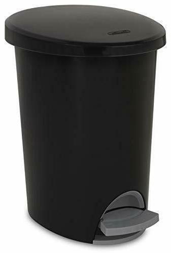 trash can waste basket step on garbage