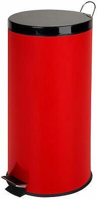 Honey-Can-Do TRS-03026 30-Liter/8-Gallon Stainless Steel Ste