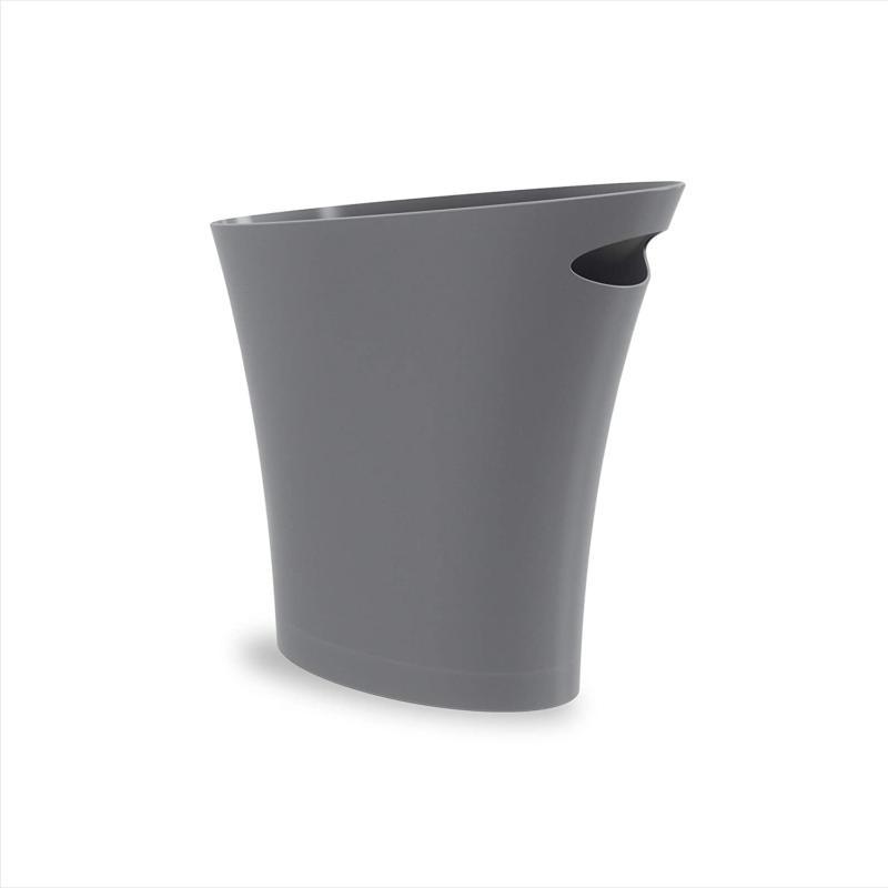 umbra skinny sleek stylish bathroom trash small