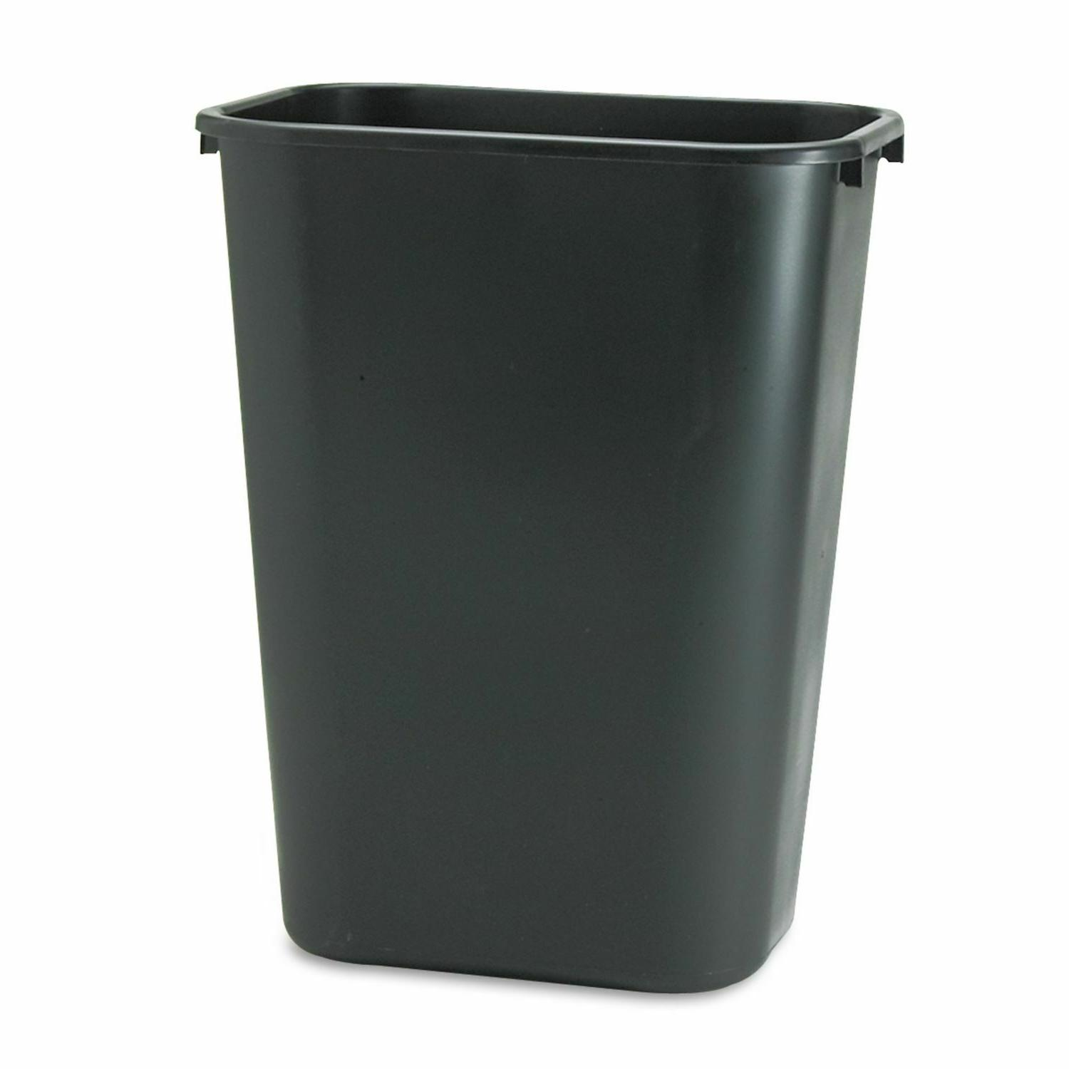 various sizes trash can plastic garbage office