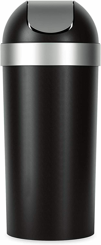 Umbra Venti 16.5-Gallon Swing Top Kitchen Trash Can – Larg