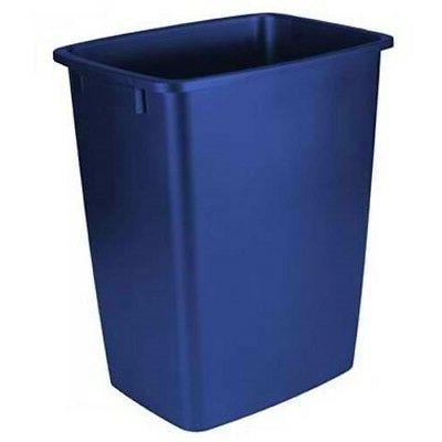Rubbermaid Waste Basket, 36-Quart, Blue
