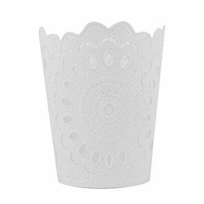 wastebasket pp hollow pattern solid color paper