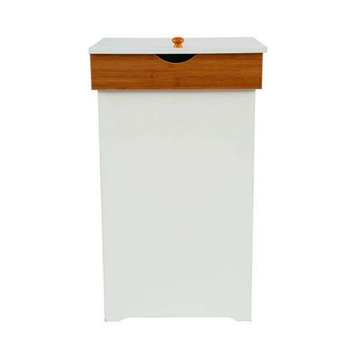 13 Gallon Bin with Kitchen Trash Can Garbage