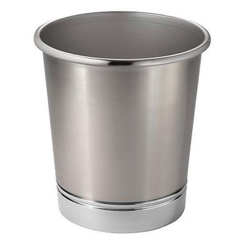 york metal wastebasket trash can