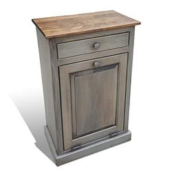 Lancaster's Best Wooden Pull Out Trash Can Cabinet, Handmade