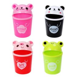 Lovely Panda Trash Can Mini Desktop Waste Bin Garbage Organi