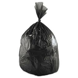 Low Density Black Trash Bags Can Liners 35 x 58, Case of 100
