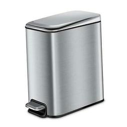 Magdisc Bathroom Trash Can with Lid Soft Close, Rectangular