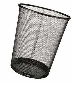AmazonBasics Mesh Trash Can Waste Basket 1-Pack