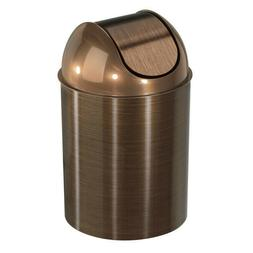 Umbra Mezzo, 2.5 Gallon Trash Can with Swing Top Lid