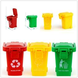 Mini 3 Trash Can Toy Garbage Truck Cans Original Color Curbs