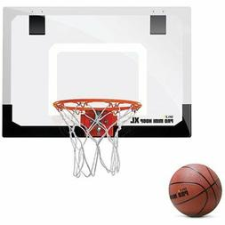 """SKLZ Pro Mini Basketball Hoop W/ Ball. 23""""x16"""" Shatter R"""