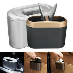 Mini Car Waste Bin Desktop Garbage Basket Table Home Office