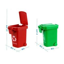 Mini Trash Garbage Can Curbside Trashcan for Children Kids G