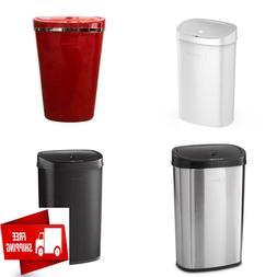 Motion Sensor Kitchen Touchless Trash Can, 13.2 Gallon, Stai