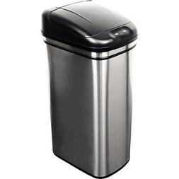 Nine Stars Motion Sensor Slim Touchless 11-Gallon Trash Can,