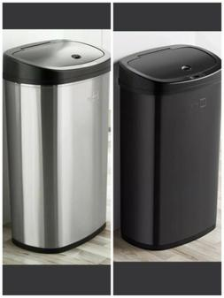 Motion Sensor Trash Can Stainless Steel Kitchen Garbage Hand