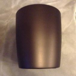 NEW InterDesign Gina Wastebasket Trash Can, Bronze