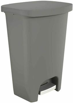 New GLAD GLD-74030 Plastic Step Trash Can with Clorox 13 Gal