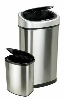 NEW Nine Stars Touchless Automatic Motion Sensor Trash Can S