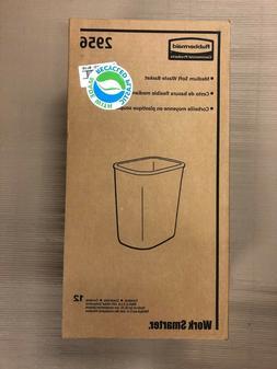 New Rubbermaid Trash Bin Basket 2956-73 Blue Box of 12 7 gal