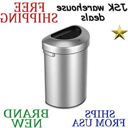 *New* EKO Urban Commercial II TRASH CAN in Stainless Steel 6