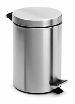 Blomus Nexio Pedal Trash Can with Removable Insert Polished