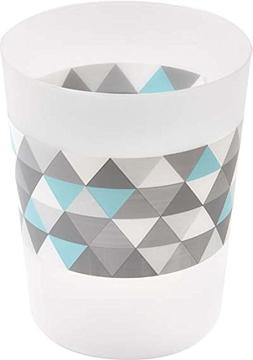 EVIDECO Nordik Printed Floor Trash Can Bin Waste Basket 4.5-