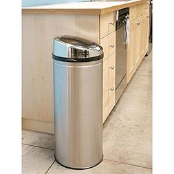 NX iTouchless 13-gallon Stainless Steel Touch-free Smart Tra