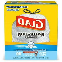 Glad OdorShield Protection Series Tall Kitchen Drawstring Tr