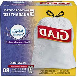 Glad OdorShield Tall Kitchen Drawstring Trash Bags - Febreze