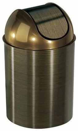 Oil Rubbed Bronze Trash Can Garbage Wastebasket Waste Basket