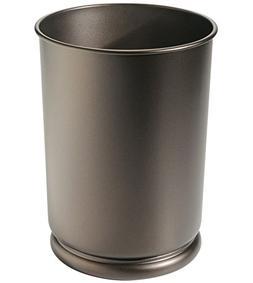 InterDesign Olivia Tall Wastebasket Trash Can - Bronze