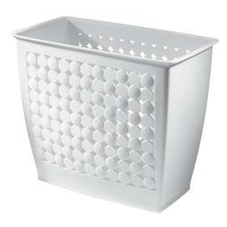 InterDesign Orbz Wastebasket Trash Can for Bathroom, Office,