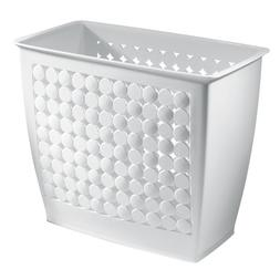InterDesign Orbz Wastebasket Trash Can for Bathroom, Office,