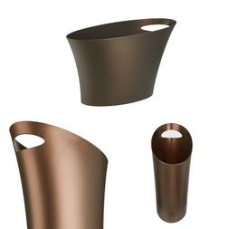 Original Slim Trash Can Functional Design For The Home Bronz