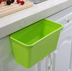 Pack of 2 Over the Cabinet Basket Wastebaskets, Multifuction