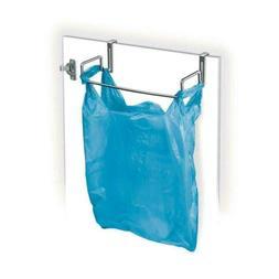 Lynk Over Cabinet Door Organizer - Plastic Bag Holder - Chro